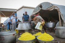 پخت روزانه ۳۵هزار پرس غذا در موکبهای اتباع خارجی در شلمچه