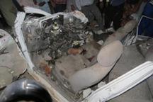 برخورد اتوبوس با پراید در ریگان 6 کشته و یک مجروح بر جا گذاشت