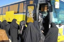 195 دانش آموز دختر از بیرجند به اردوی راهیان نور اعزام شدند