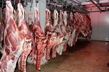 25 هزار تن گوشت برای شب عید ذخیره شد
