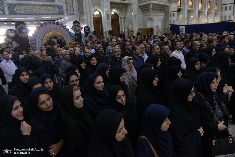 تجدید میثاق اقشار مردم و مسئولان با آرمان های امام راحل-1