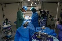 بیمارستان صحرایی نیروی دریایی سپاه در پارسیان راه اندازی شد