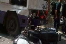 مرگ راکب موتورسیکلت در برخورد با تریلر در شهرستان پلدختر
