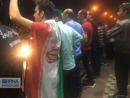 شادی مازندرانی ها از صعود تیم ملی فوتبال ایران به جام جهانی