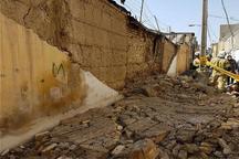بر اثر ریزش دیوار در رفسنجان جوان 22 ساله جان سپرد