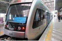 افزایش سرویس دهی خط دوم قطار شهری مشهد