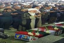 پیکر مطهر شهید محبعلی فارسی در زاهدان تشییع و خاکسپاری شد