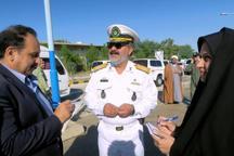 جانشین منطقه دوم دریایی ارتش: این نیرو با اقتدار از منافع جمهوری اسلامی در آبهای آزاد محافظت می کند