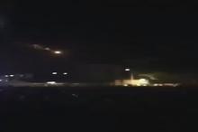 لحظه اصابت راکت از نوار غزه به مواضع صهیونیست ها ساعتی پس از هشدار سیدحسن نصرالله
