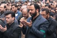 اقامه نماز ظهر عاشورا در استان یزد