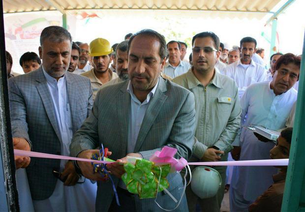 افتتاح یک مدرسه 6 کلاسه بنیاد برکت در روستای پسابندر چابهار