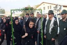250 دانش آموز جوانرودی به مناطق عملیاتی غرب اعزام شدند