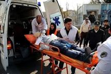 262 مصدوم تصادفات نوروزی به بیمارستان منتقل شدند