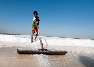 بحران نمک قم بیخ گوش تهران
