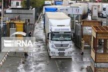 بیش از ۵۵۴ هزار تن کالا از گمرک باشماق کردستان ترانزیت شد