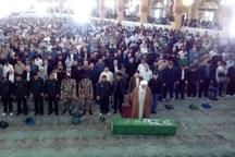 پیکر دو شهید مدافع حرم در پاکدشت تشییع شد