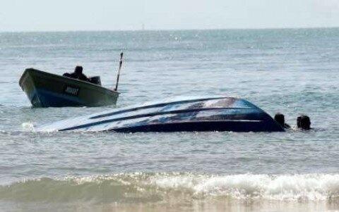واژگونی قایق در گمیشان
