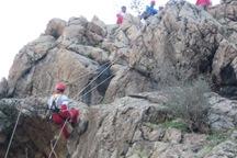 چهار کرمانی گرفتار در کوههای سیرچ نجات یافتند