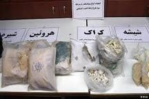 کشف 70 کیلو مواد مخدر با دستگیری 4 قاچاقچی در اردبیل