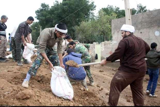 600 گروه جهادی به مناطق سیل زده خوزستان اعزام شده اند