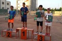 تنیسورهای نونهال آذربایجان غربی 3 طلای کشوری کسب کردند