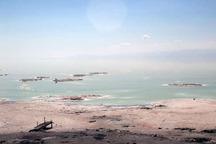 دریاچه ارومیه نسبت به سال قبل یک سانتی متر افزایش تراز دارد