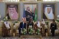 عکس/ ترامپ و همسرش در عربستان+ تصاویر