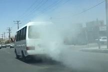 طرح تشدید مقابله با وسایل نقلیه دودزا در مهاباد آغاز شد