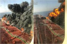 حمله به دو نفتکش در دریای عمان/ نجات ۴۴ ملوان توسط نیروهای ایرانی و انتقال به جاسک