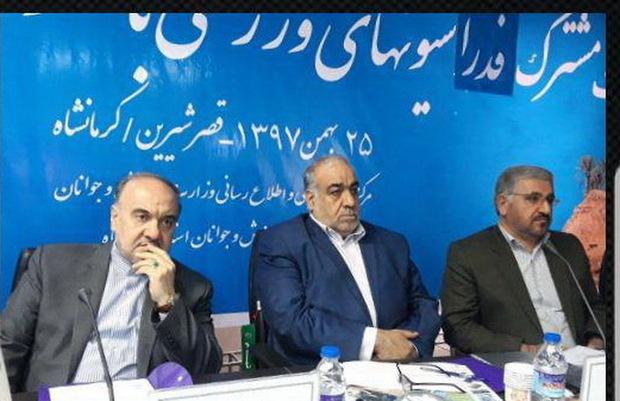 زیرساخت های ورزشی شهرستان های غربی کرمانشاه نیازمند توجه است