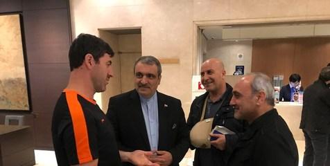 دو پرسپولیسی از دبی به تهران آمدند