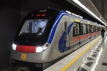خدمات خط 5 مترو تهران فردا شب یک ساعت افزایش می یابد