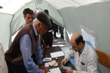 افتتاح بیمارستان صحرایی ارتش در ورزقان