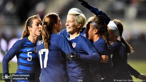 فدراسیون فوتبال آمریکا به تبعیض جنسیتی متهم شد