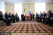 روحانی: روابط ایران و روسیه در منطقه مثالزدنی است/ برگزاری کمیسیون مشترک طی هفته آینده در تهران به روند همکاری ها سرعت می بخشد/ پوتین: مسکو مصمم به توسعه همکاری های دو جانبه ، منطقه ای و بین المللی با ایران است/ قدردانی از کمک ایران برای نجات 11 خدمه روس