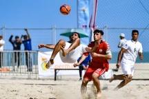 تیم فوتبال ساحلی شهدای چلیچه از شهرداری بندرعباس شکست خورد