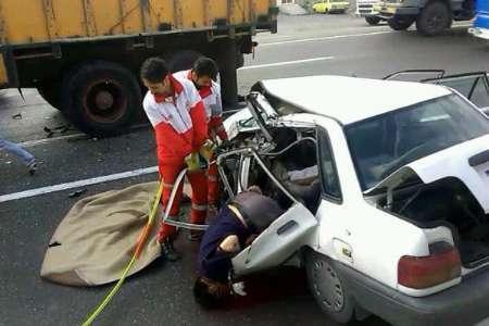 حادثه رانندگی در محور سراب - بستان آباد با 28 مصدوم و یک فوتی