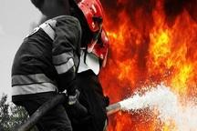 آتش سوزی منزل مسکونی در آستارا مهار شد