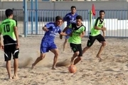 تیم فوتبال ساحلی شهدای چلیچه در هفته نخست شگفتی ساز شد
