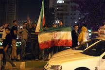 جشن غرور ملی پس از تساوی ایران مقابل پرتغال