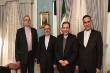 نشست مشورتی سفرای ایران در سوئد، دانمارک و نروژ با حضور عراقچی در استکهلم