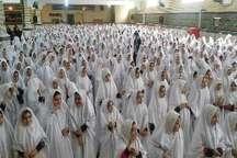 جشن تکلیف 700 دانش آموز دختر دماوندی برگزار شد