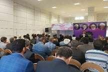 ستاد انتخاباتی اصولگرایان معتدل حامی حسن روحانی در قزوین آغاز به کار کرد