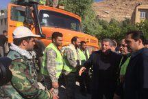 امدادرسانی 600 تن از نیروهای شهرداری تهران در مناطق زلزلهزده