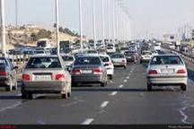 محدودیت تردد در آزادراه تهران- قم   مهگرفتگی در محور اردبیل