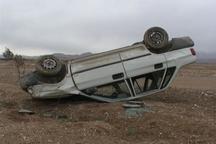 واژگونی خودرو در غرب سبزوار چهار مصدوم داشت