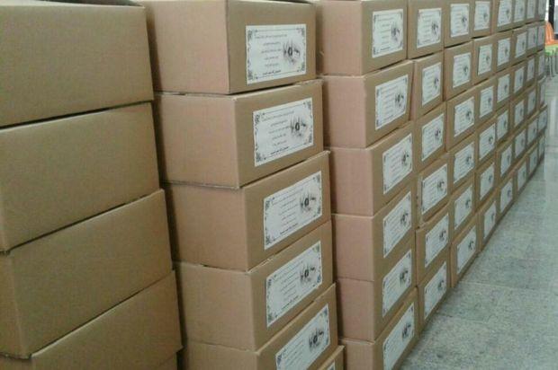 700 سبد کالای عیدانه در امیرآباد دامغان توزیع شد