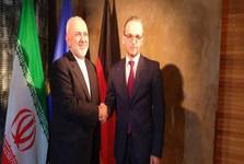 دیدار ظریف با وزیر خارجه آلمان در مونیخ