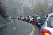 باران، ترافیک در راههای مازندران را ماندگار کرد