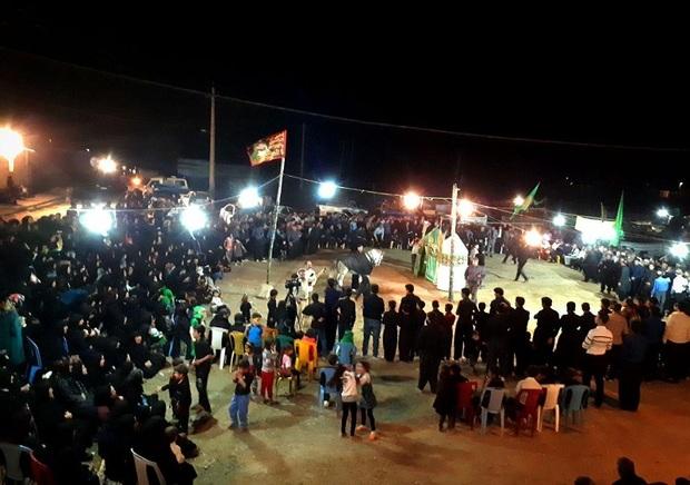 آیین عزاداری سنتی در اسلام آبادغرب برگزار شد
